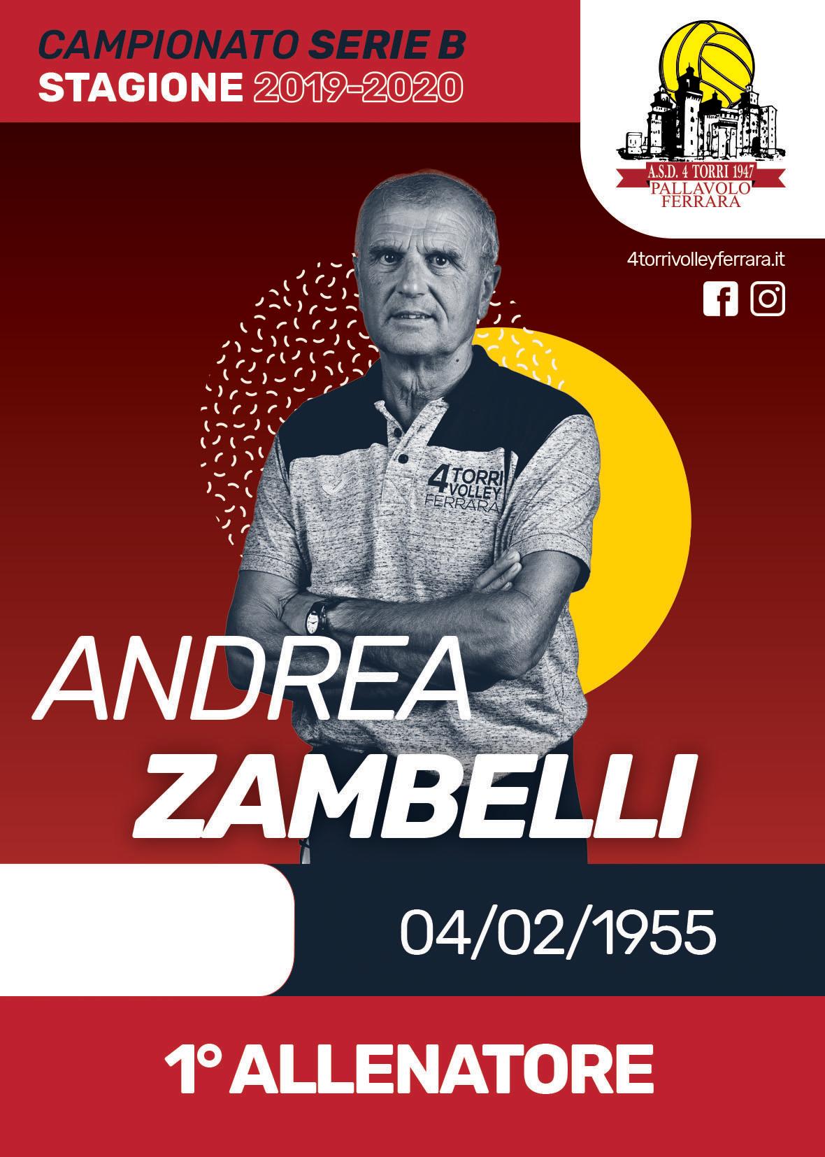 andrea-zambelli - A.s.d. 4 Torri 1947 Pallavolo Ferrara